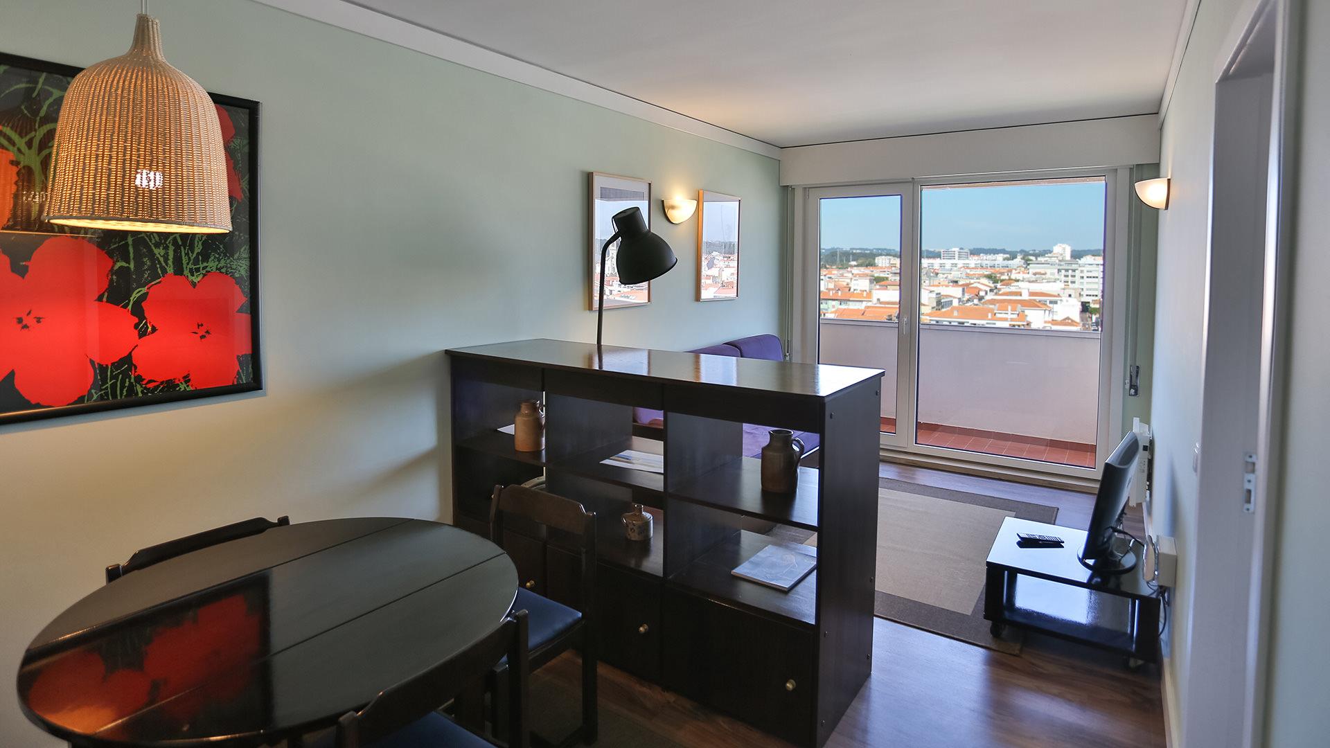 Apartamento T1 Vista Cidade