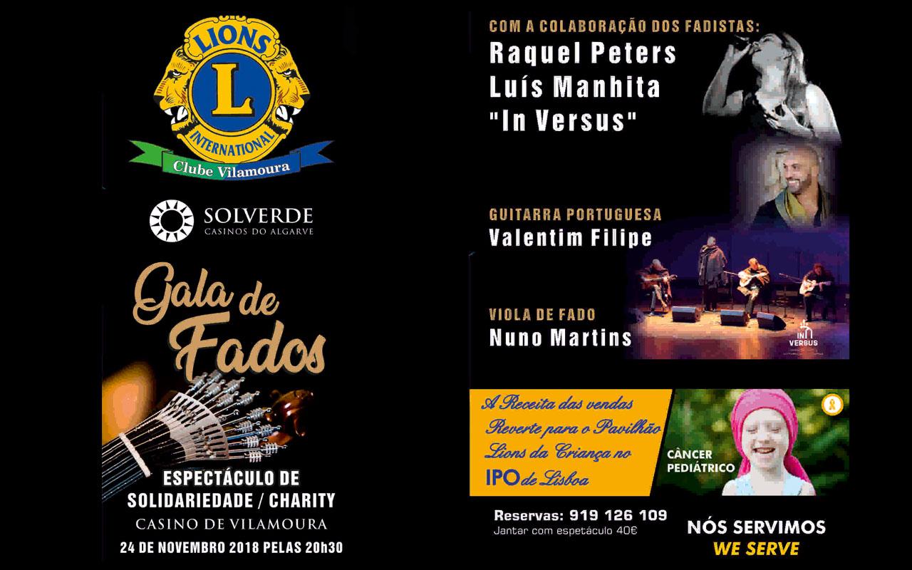 Gala de solidariedade do Lions Clube de Vilamoura